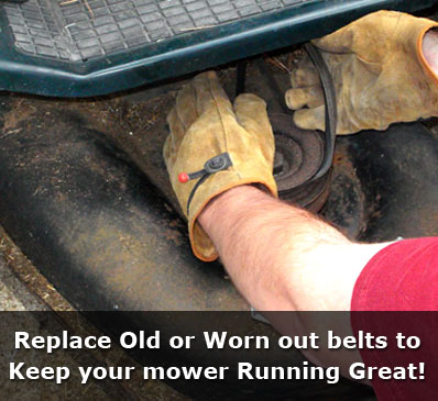Lawn Mower Belt Replacement Services