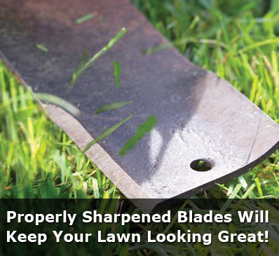 Mobile Lawn Mower Blade Sharpening Service Doctor