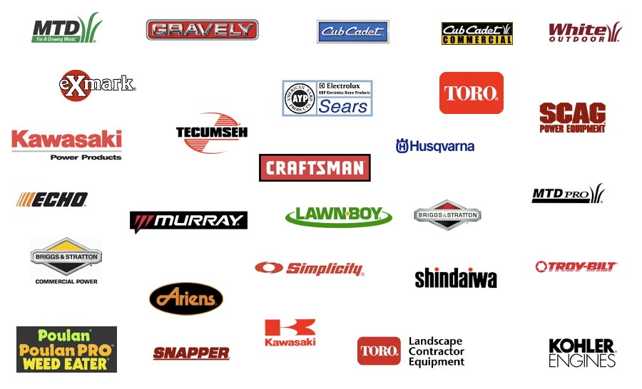 Brands Of Lawn Mowers That We Service Mower Doctor