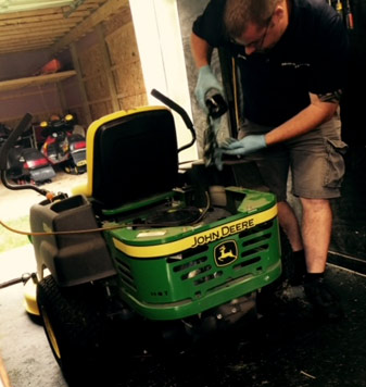 Zero Turn Lawn Mower Repair