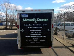 Mobile Lawn Mower Repair Trailer - 2