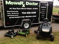 Lawn Mower Repair Service - After